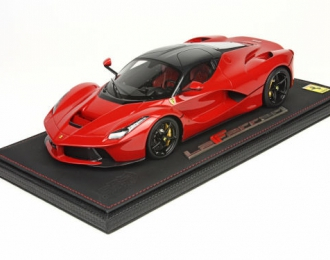 Ferrari LaFerrari 2013, L.e. 99 pcs. (red, carbon roof, gloss wheels)