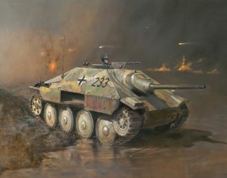 Сборная модель Истребитель танков JAGDPANZER 38(t) HETZER