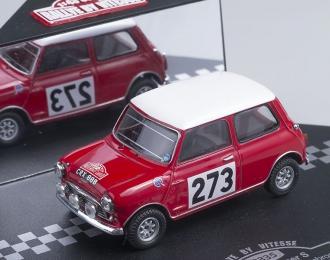 AUSTIN Cooper S #273 R.Aaltonen - T.Ambrose  Rallye Monte-Carlo, (1965)