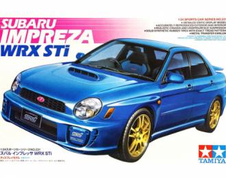 Сборная модель Subaru Impreza WRX STi