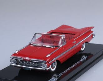 CHEVROLET Impala (1959), red