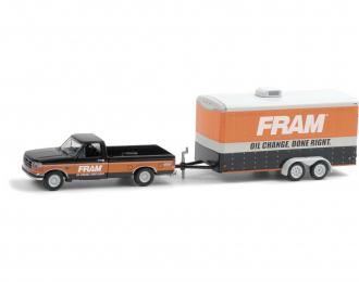 "набор FORD F-150 XLT Pick-up с прицепом Cargo ""FRAM Oil Filters"" 1994"