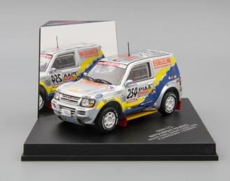 MITSUBISHI Pajero Rallye Paris-Dakar-Cairo K. Shinozuka / D. Serieys, silver