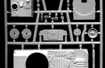 Сборная модель Самоходная гаубица 2С1 Гвоздика