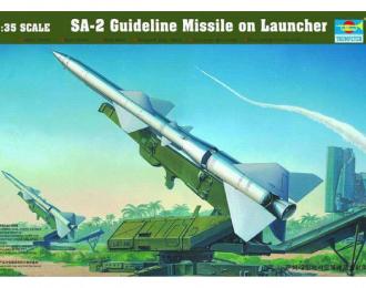 Сборная модель пусковая установка SA-2 с ракетой