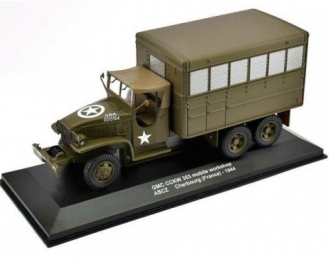 GMC CCKW 353 6х6 mobile workshop ASCZ Cherbourg Франция 1944