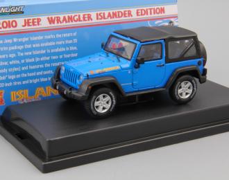 JEEP Wrangler 4x4 Rubicon (2012), islander edition blue