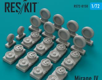 Колеса для Mirage IV wheels set