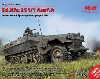 Сборная модель Германский бронетранспортер Sd.Kfz.251/1 Ausf.A