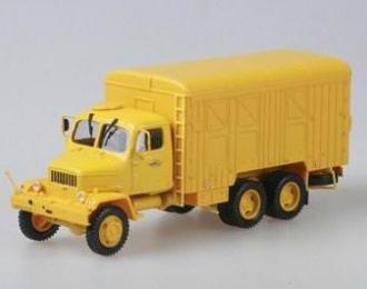 PRAGA V3S Container Truck 6х6 1953, yellow