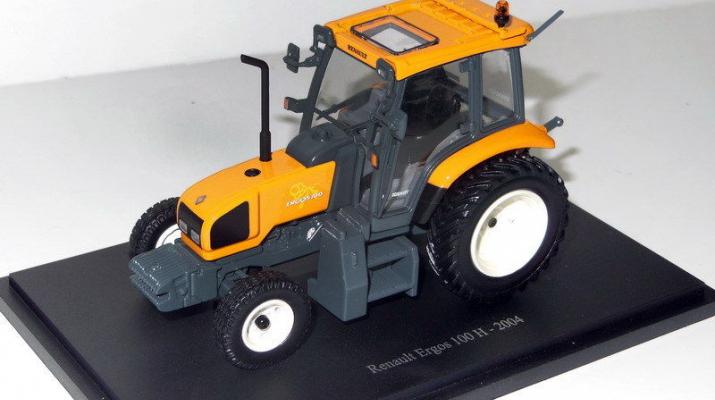 RENAULT Ergos 100 H (2004), orange / grey
