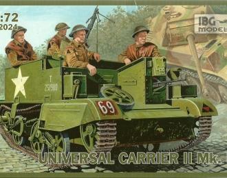 Сборная модель Британский гусеничный транспортер Universal Carrier II Mk.II