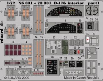 Цветное фототравление для B-17G interior S. A