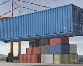 Сборная модель Аксессуары 40 футовый контейнер