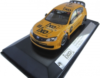 SUBARU Impreza WRC Nurnberg International Toy Fair 2009, yellow