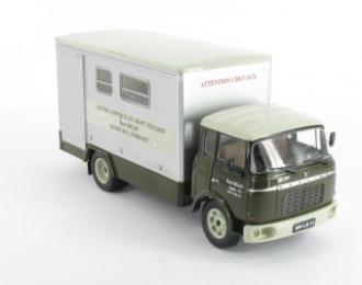 BERLIET GBK (France 1967), серия Camions DAutrefois 51, серый