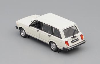 Волжский автомобиль 2104 Жигули, Автолегенды СССР 43, белый