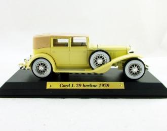 CORD L29 Berline (1929), Автолегенды 20-го века, св.бежевый