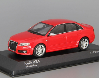 AUDI RS 4 (2005), red metallic