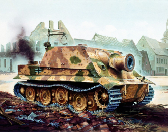 Сборная модель САУ  38cm RW61 auf STURMMORSER TIGER