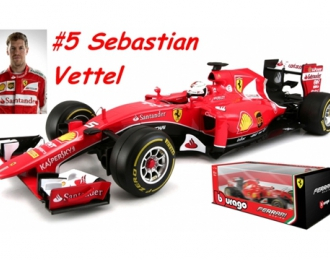 Ferrari SF15-T F1 - S. Vettel 2015