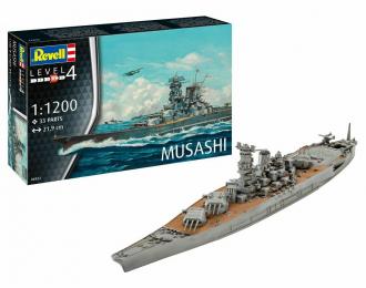 Сборная модель Линейный корабль Musashi