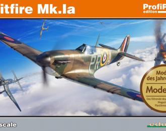 Сборная модель Истребитель Spitfire Mk. Ia