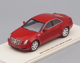 CADILLAC CTS Sedan (2011), crystal red