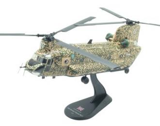 Boeing Chinook HC.1, Helikoptery Świata 14