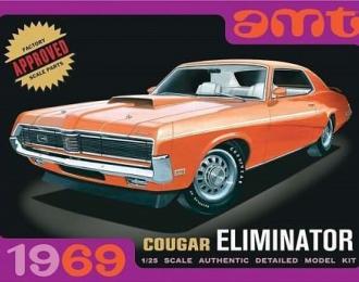 Сборная модель 1969 Mercury Cougar Eliminator (Orange)