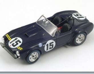 COBRA №15 Sebring 12h (D.Gurney - P.Hill) 1963, dark blue