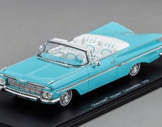 CHEVROLET Impala Convertible (1959), blue