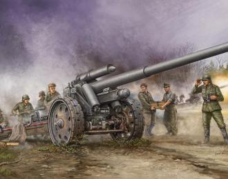 Сборная модель Пушка 10-см К.18