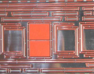 Фототравление Рамки стекол и молдинги для ZIS-154 (Modimio)