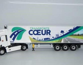 "RENAULT T460 c полуприцепом ""TRANSPORTS COEUR"" 2018"