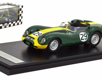 JAGUAR LISTER  #29 S.Moss Winner Daily Express Sports Car Race Silverstone 1958