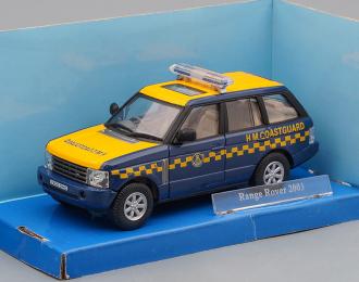 RANGE ROVER H M Coastguard (2003), blue / yellow