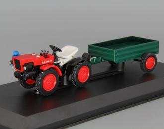 TZ 4K-14, Тракторы 86, красный / зеленый