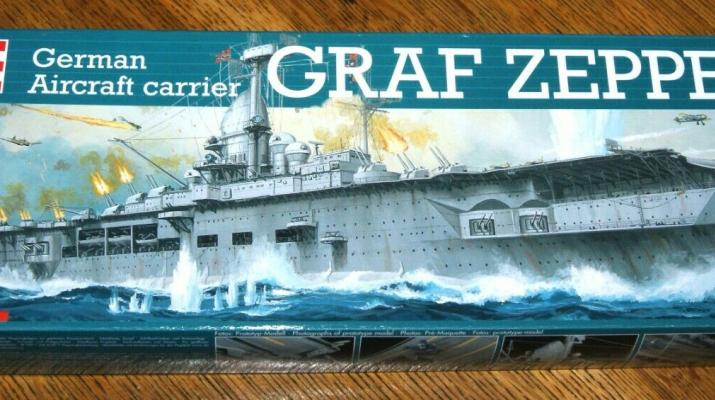 """Сборная модель German Aircraft carrier """"Graf Zeppelin"""""""