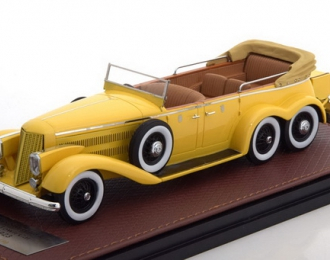 HISPANO Suiza H6A Victoria Town Car Cabriolet (открытый) 1923 Yellow