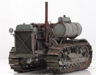 Сталинец С-60 трактор (серый грязный)