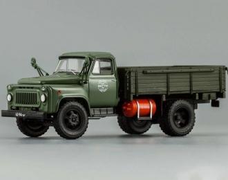 Горький 52-07 газобалонный (1978), темно-зеленый