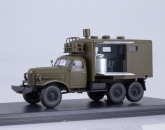 Передвижная автомобильная кухня ПАК-170 (157) (с интерьером), хаки
