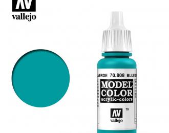 Краска акриловая `Model Color` Сине-зеленый/Blue Green