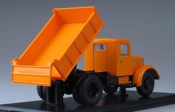 МАЗ 205 самосвал, оранжевый
