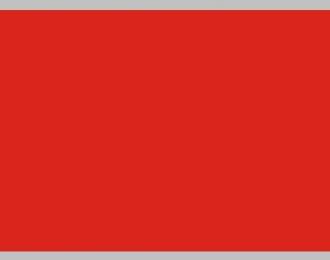 Декаль Цветовое поле (красный), 195x85