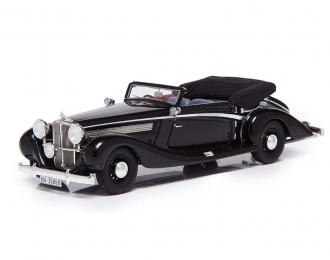 Maybach SW38 Cabriolet A by Spohn - 1938 open roof (black)
