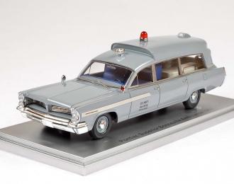 PONTIAC Superior Bonneville J.F.K Ambulance Medical Department U.S.NAVY (1963), grey