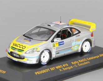 PEUGEOT 307 WRC #19 A.Bengue-C.Escudero RACC Catalunya (2006), silver