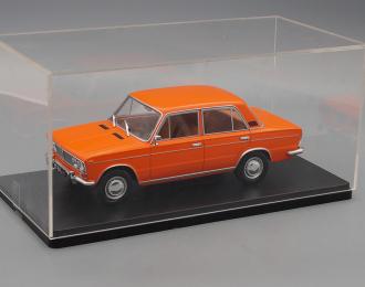 """ВАЗ 2103 """"Жигули"""", Легендарные Советские Автомобили 13, оранжевый + бокс"""